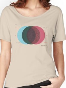 Emanuel Swedenborg's Heaven and Hell Women's Relaxed Fit T-Shirt