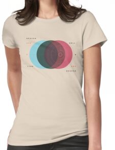 Emanuel Swedenborg's Heaven and Hell Womens Fitted T-Shirt
