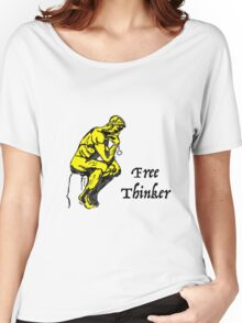 Free Thinker Women's Relaxed Fit T-Shirt