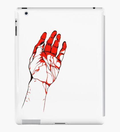 Blood hand iPad Case/Skin