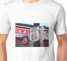 """""""Get Your Kicks on Route 66""""  Unisex T-Shirt"""