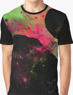 A World Of Colour - Abstract Space Scene Graphic T-Shirt
