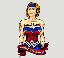 Hillary Clinton is Wonder Woman  Unisex T-Shirt