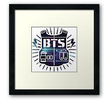 BTS Bulletproof Galaxy Framed Print
