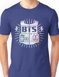 BTS Bulletproof Rainbow Watercolor Unisex T-Shirt