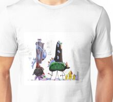 cartoon ilustration Unisex T-Shirt