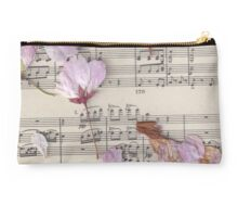 Dried Flowers & Schubert  Studio Pouch