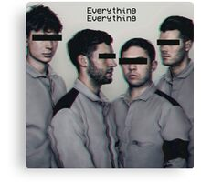 Everything Everything band Canvas Print