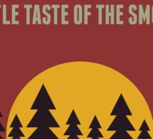 PIGEON FORGE TENNESSEE MOUNTAINS TREES A LITTLE TASTE OF THE SMOKIES SMOKY MOUNTAINS Sticker