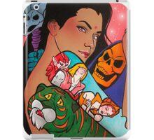 80s girl 5 iPad Case/Skin