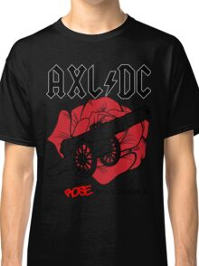 """Axl/DC """"For Rose About To Rock"""" Classic T-Shirt"""