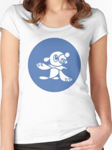 Popplio from Pokemon Sun and Moon Women's Fitted Scoop T-Shirt