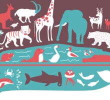 Animal Kingdom (boy version) Sticker