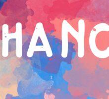 Chance 3 Sticker