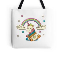 Rainbow, stars and unicorn ^_^ Tote Bag