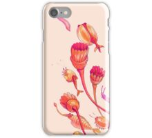 burgess shale buddies - orange & pink iPhone Case/Skin