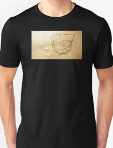 Leaf Skeleton Shadow Unisex T-Shirt
