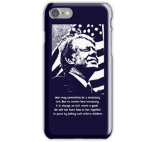 JIMMY CARTER-2 iPhone Case/Skin