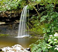 Sgwd Gwladus or The Lady falls by Anthony Hedger Photography