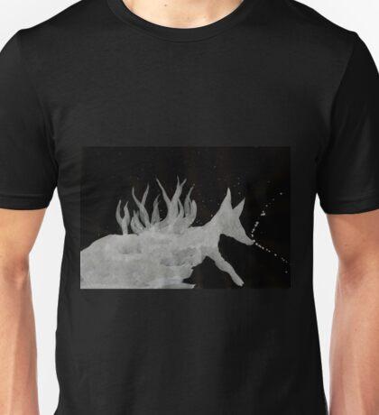 0064 - Brush and Ink - Denning Unisex T-Shirt