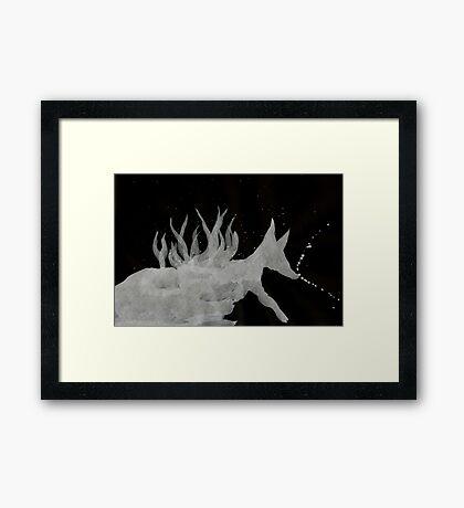 0064 - Brush and Ink - Denning Framed Print