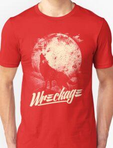 """Wreckage"" - Wreckage Wolf Unisex T-Shirt"