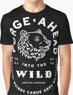Forge Ahead into the Wild  Graphic T-Shirt