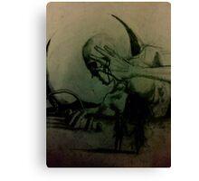 The Wrayville Rumor Canvas Print