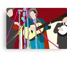The worlds best band Canvas Print