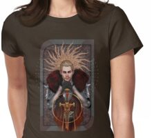 Commander Tarot Womens Fitted T-Shirt