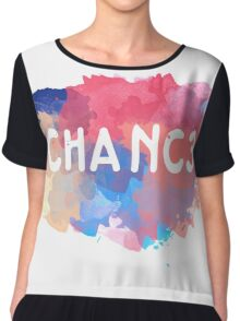 Chance 3 Chiffon Top