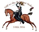 148th Belmont Stakes 2016 Horse Racing by Ginny Luttrell