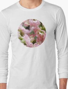 Tiny Pink Flowers Long Sleeve T-Shirt
