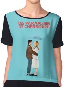 The Umbrellas of Cherbourg - Catherine Deneuve - Jacques Demy Chiffon Top