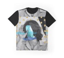 Golden Blue Smoke  Graphic T-Shirt