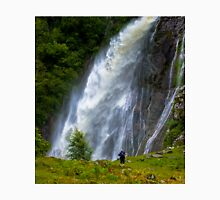 The Aber Falls in Wales Unisex T-Shirt