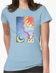 Universal Love Womens Fitted T-Shirt