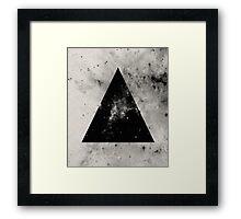 Triangular Universe Framed Print