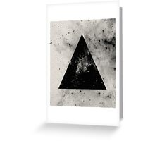 Triangular Universe Greeting Card