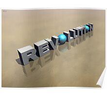 Revolution in 3D Poster