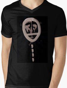 0076 - Brush and Ink - Lol Mens V-Neck T-Shirt