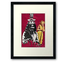 She called him her sterling silver boy. . .  Framed Print
