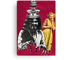 She called him her sterling silver boy. . .  Canvas Print