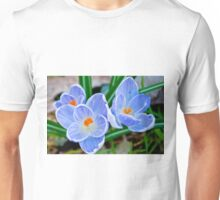 Pastel shades of blue Unisex T-Shirt