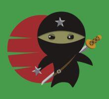 Ninja Star - Darker Version Kids Tee