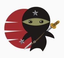 Ninja Star - Darker Version One Piece - Short Sleeve