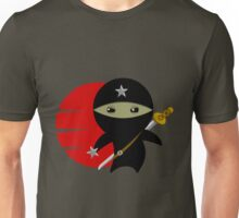 Ninja Star - Darker Version Unisex T-Shirt