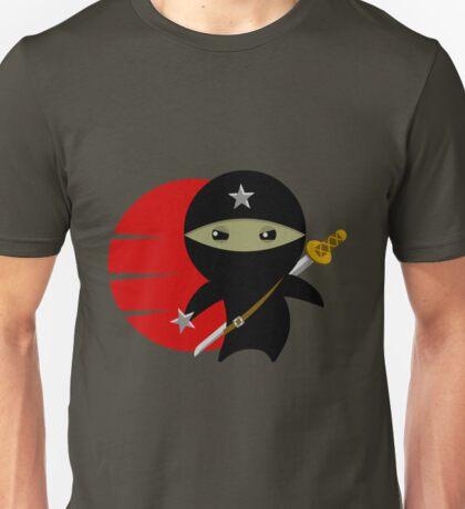 Ninja Star - Darker Version Unisex T-Shirt