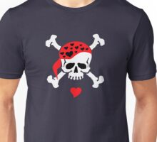 Love & Crossbones Unisex T-Shirt