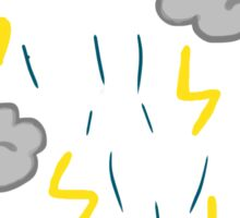 Stormy Weather Sticker
